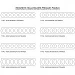 Preview of DWG file. Rescrete Hollowcore Precast Panel
