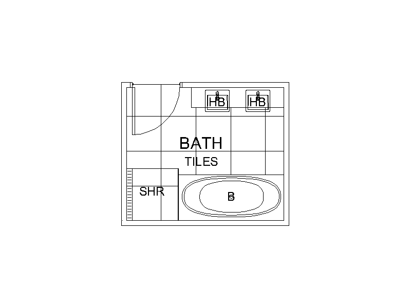 Bathroom - Plan