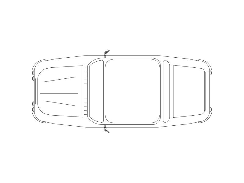 Car in Plan View - Type P2