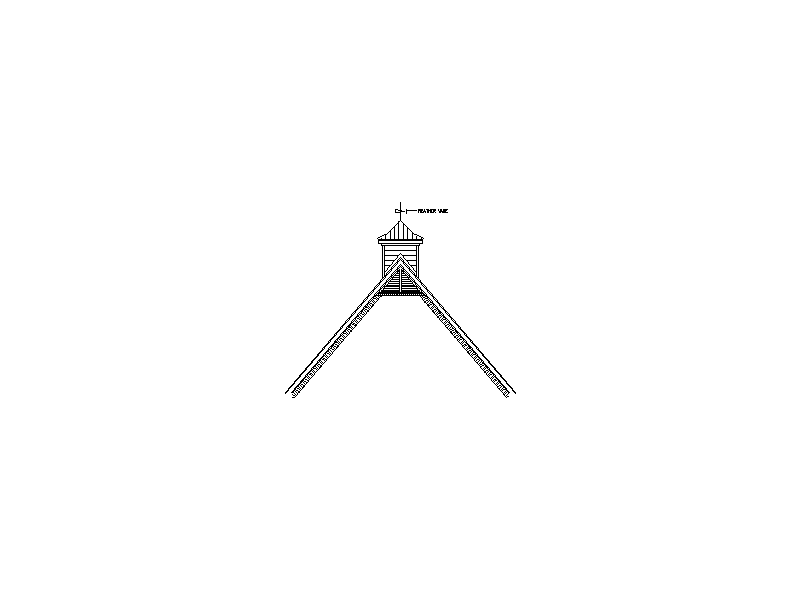 Cupola Weather Vane