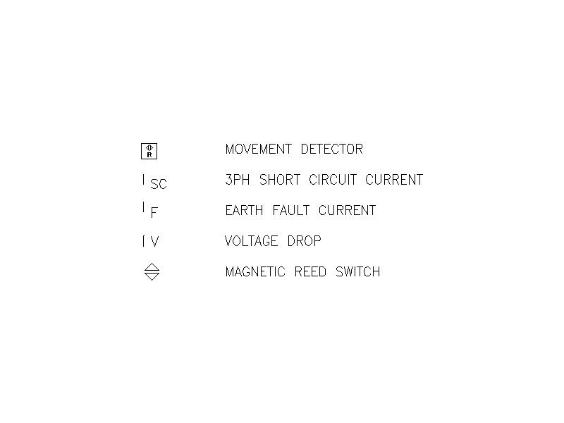 2D electrical symbols - File 8