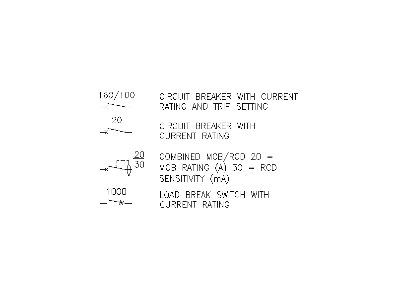 2D electrical symbols - File 10