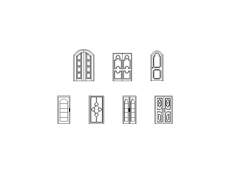 Feature Entry Door Collection - Elevations