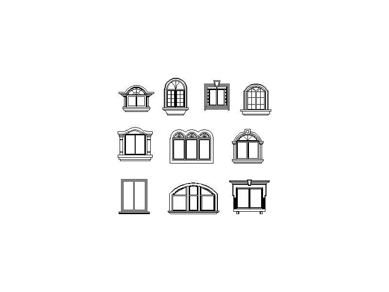 Feature Windows Collection - Elevations