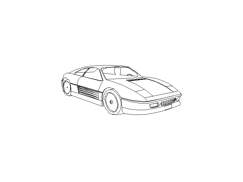 Ferrari - Isometric View