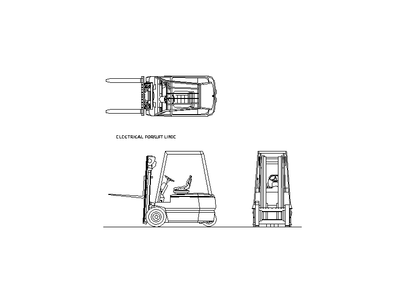 Forklift - Electrical Linde