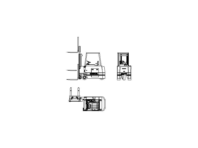 Forklift Type 3
