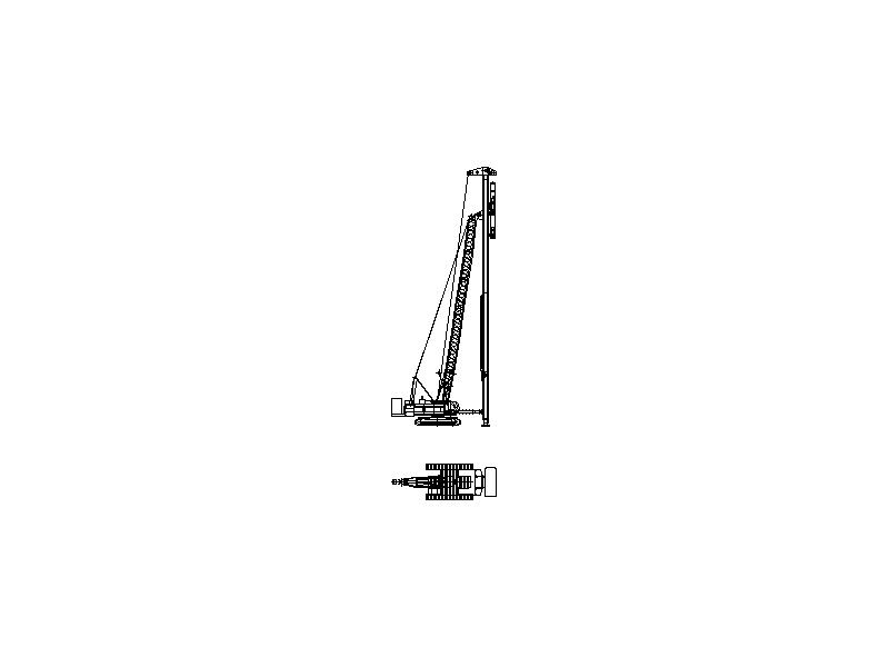 Liebherr 855 PD - Crane