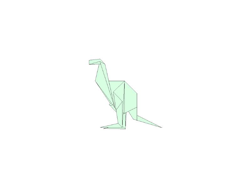 3D Origami Kangaroo | DIY | Learn Origami | How To Make Easy ... | 600x800