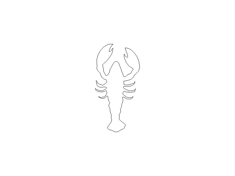 Outline of a Lobster