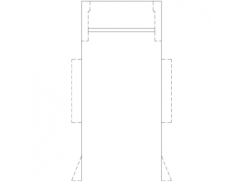 Parking Space Plan - AS2890-1 - 5.4mx2.4m