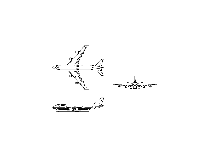 Boeing 747-200 - Aircraft