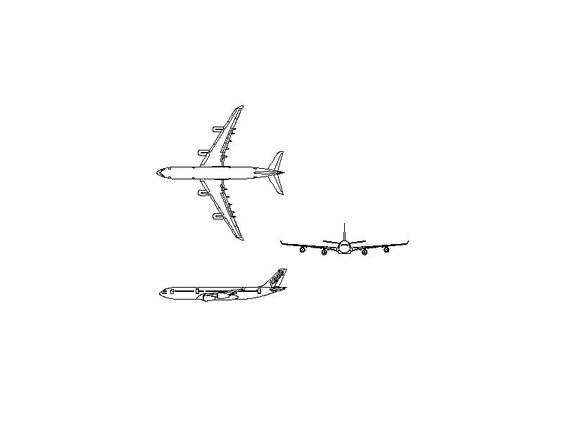 Airbus A340-200 - Aircraft