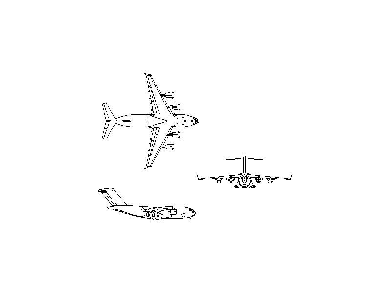 Boeing BC-17X - Aircraft