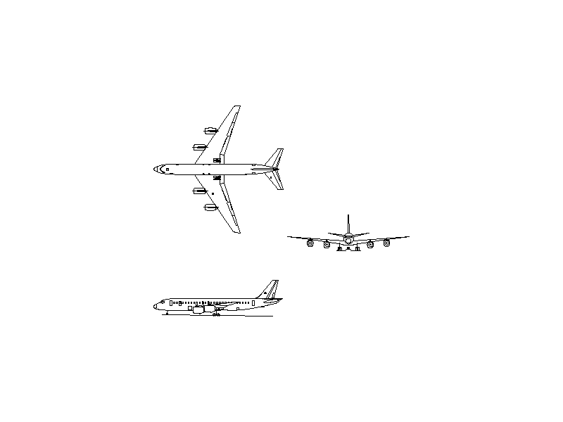 Douglas DC-8-43 - Aircraft