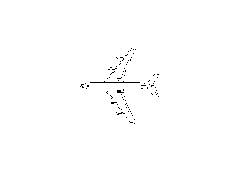 Boeing 707-320 - Aircraft