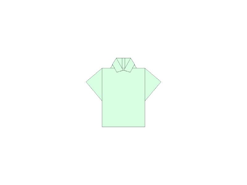 Polo Shirt - Origami