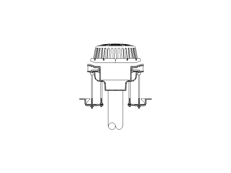 Roof Vent for Sewer