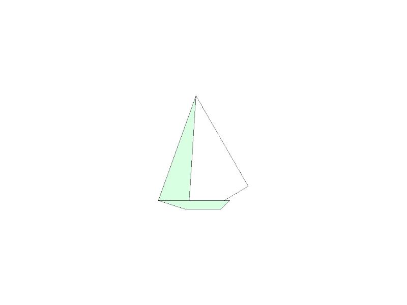 Sail Boat - Origami