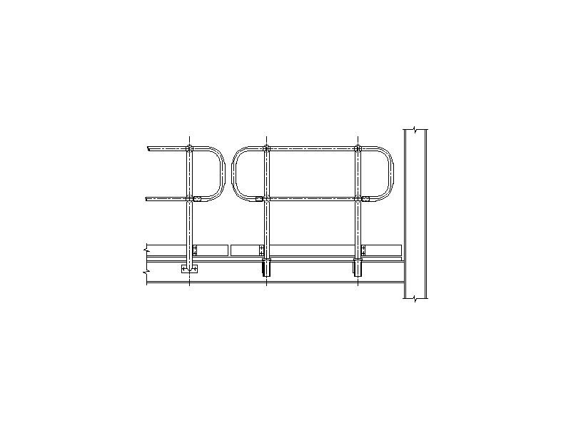 Steel Handrail Removable Panel