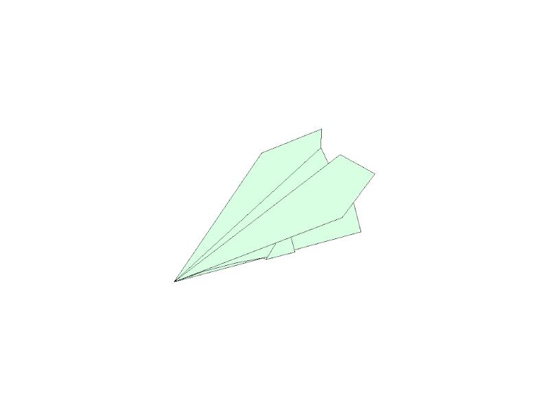 Stunt Plane - Origami